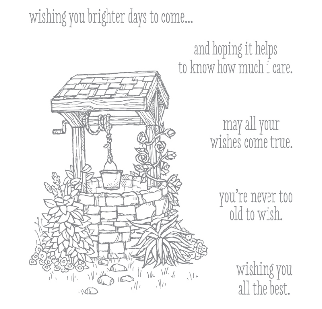 Bright Wishes stamp set