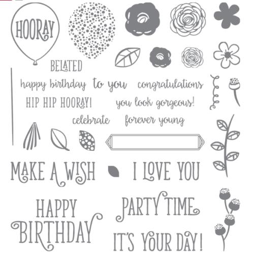 Happy Birthday Gorgeous stamp set
