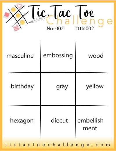 Tic Tac TOe 002 board
