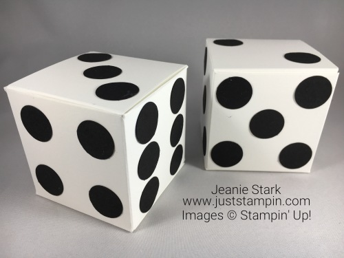 Stampin Up Simply Scored Cube Box idea - Jeanie Stark Stampin Up