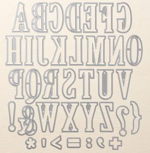 Large Letters Framelits