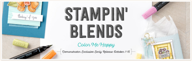 Stampin' Blends banner