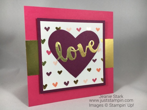 stampin up be my valentine card  youtube quick and easy
