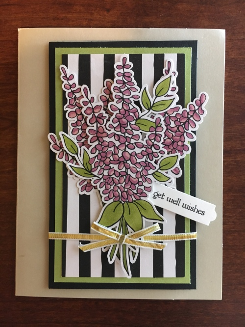 Stampin Up Lots Of Happy Card Kit - Get Well card idea - Jeanie Stark StampinUp