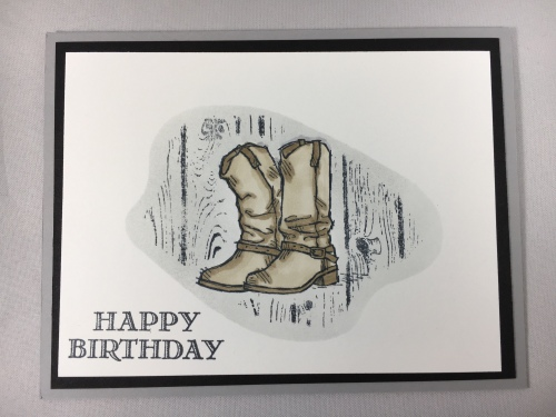 Stampin Up Country Livin' Masculine Birthday card idea - for inspiration, ordering, and more visit www.juststampin.com Jeanie Stark StampinUp