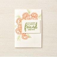 Share What You Love friend card idea