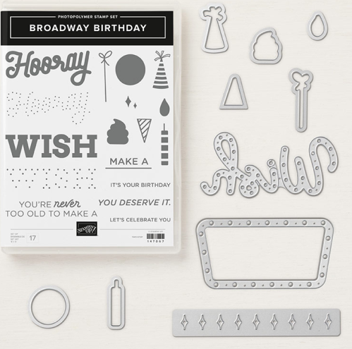 Image result for stampin up broadway bound